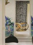 Roberto Cavalli Home Wallpaper Decoration Panel RC12083 Orchidea Blu By Colemans
